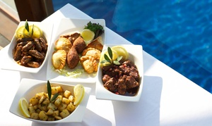 Al Qasr Restaurant: 5*Lunch or Dinner Set Menu for Two with Option for Soft Drinks or House Beverages at Al Qasr Restaurant (Up to 58% Off)