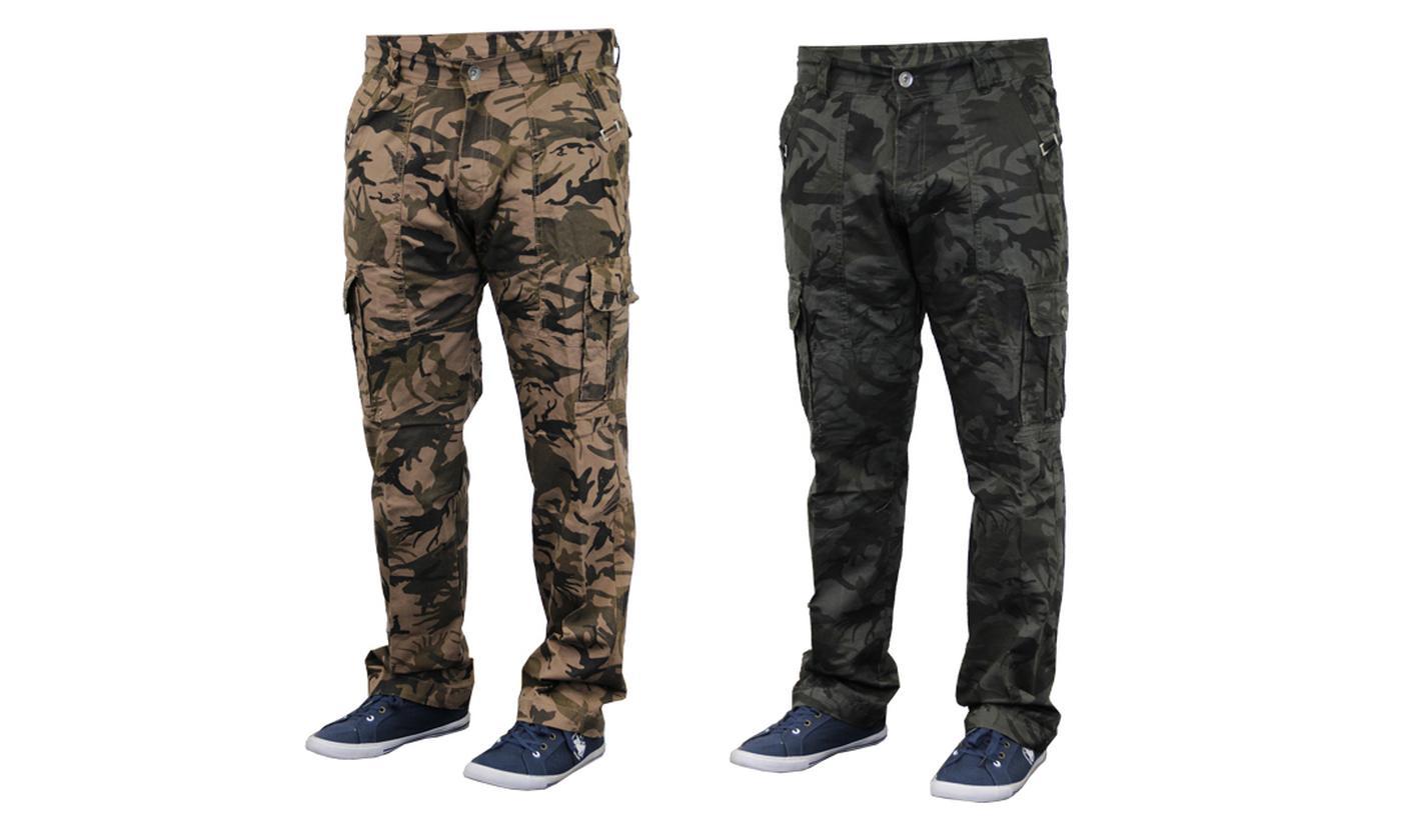 Men's Combat Cargo Trousers