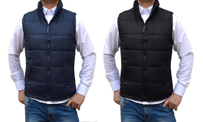quality design bd1e6 69459 Gilet smanicato da uomo | Groupon Goods