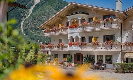 Campo Tures: fino a 4 notti in mezza pensione con sauna e drink di benvenuto per 2 persone presso l'Hotel Mair