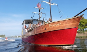 Up to 25% Off Admission to Blackbeard's Pirate Cruise at Blackbeard's Pirate Cruise, plus 6.0% Cash Back from Ebates.