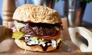 Chef Burger: Dowolny burger z frytkami od 26,99 zł w Chef Burger (do -42%)