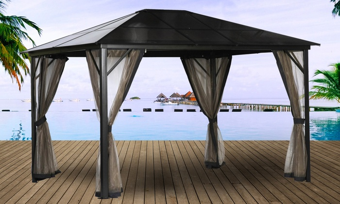 pergola verona 11m2 groupon shopping. Black Bedroom Furniture Sets. Home Design Ideas