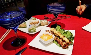 Buddha Lounge and Restaurant: Asian-Fusion Food at Buddha Lounge and Restaurant (Up to 53% Off). Four Options Available.