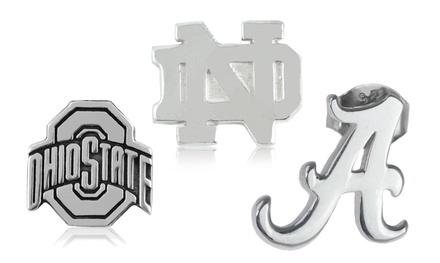 NCAA Sterling Silver Stud Earrings Set