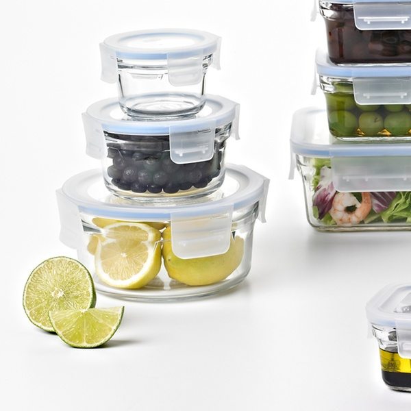 Gllock Food Storage Container Sets 20 Or 28 Piece