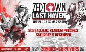 Zedtown: Zedtown: Last Haven: Tickets from $60, SCG and Allianz Stadium Precinct, 9th December