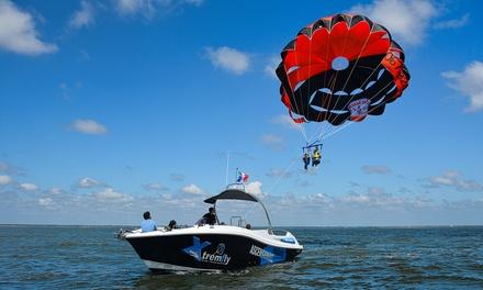 Vol en parachute ascensionnel pour 1 ou 2 personnes, option avec 2 cocktails, dès 49,90 € par Xtremfly