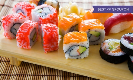 Japanese Food and Sushi at Ichiban Japanese Restaurant & Sushi (Up to Half Off). Five Options Available.