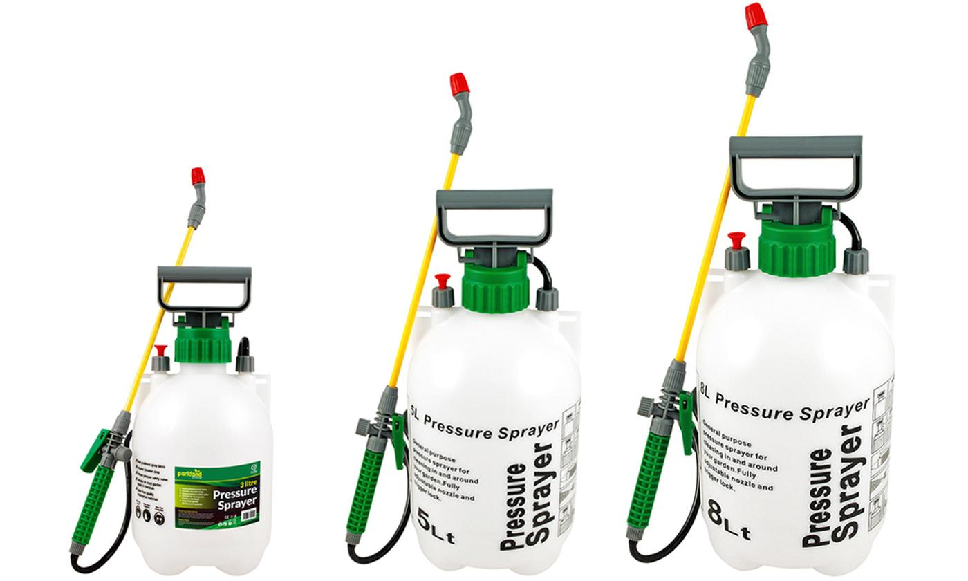 Parkland Pressure Sprayers in Choice of Size