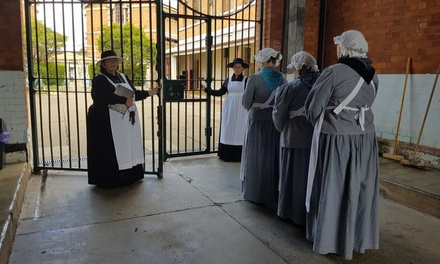 The History of Boggo Road Gaol Tour: 1 $15, 2 $30, 3 $45, 4 $60, 5 $75 or 6 People $90 Up to $165 Value