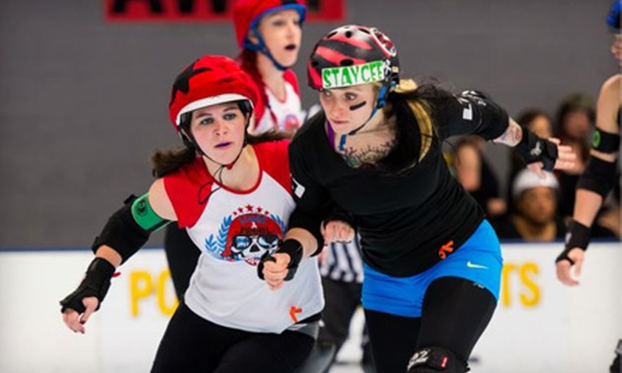 Garden State Rollergirls - North Arlington: Garden State Rollergirls Intraleague Bout at Inline Skating Club of America on Saturday, June 8 (Up to 52% Off)