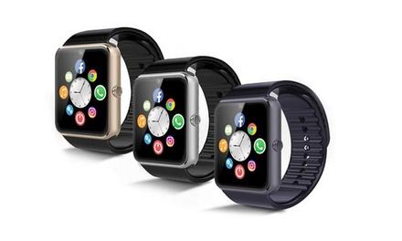 Montre connectée smartwatch Elégancia compatible tous smartphones Android et iPhone, avec tracker dactivité