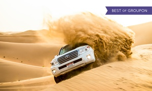 Emirates Adventures Tours and Safari: Half-Day Desert Safari with Dune Bashing and Barbecue with Emirates Adventures Tours and Safari (Up to 60% Off)