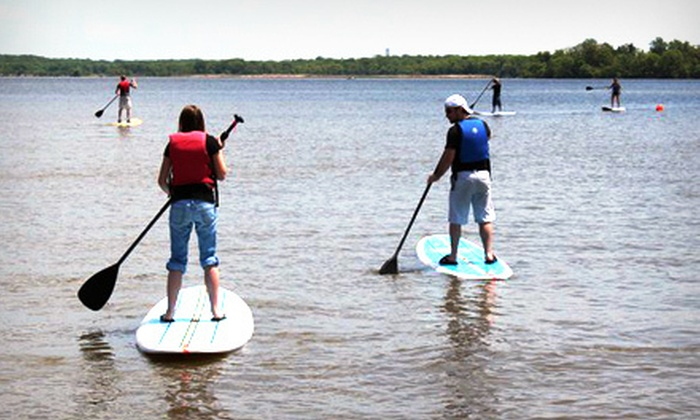 Ultimate Watersports - 15: Two-Hour Self-Guided Standup Paddleboard Tour for One or Two from Ultimate Watersports (Up to 55% Off)