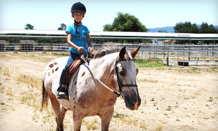 Jeanette Arnaout Training - South Santa Clara Valley: $199 for a Four-Day Kids' Horseback-Riding Summer Camp at Jeanette Arnaout Training ($400 Value)