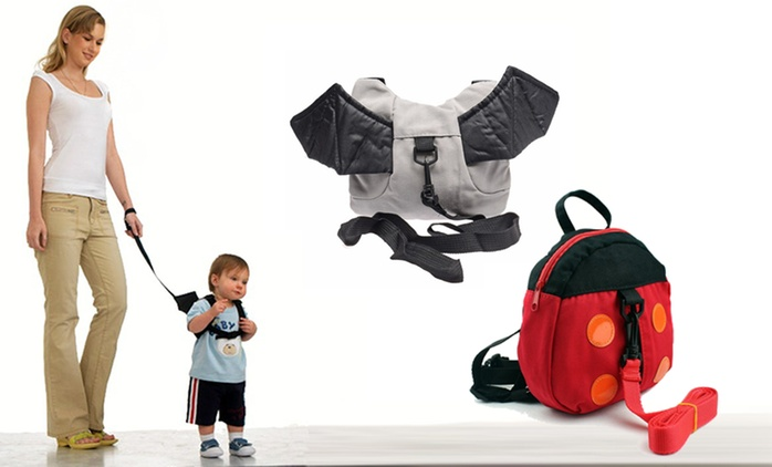 Kids' Walking Harness Backpack: One ($15) or Two ($25)