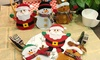 Set de fundas navideñas