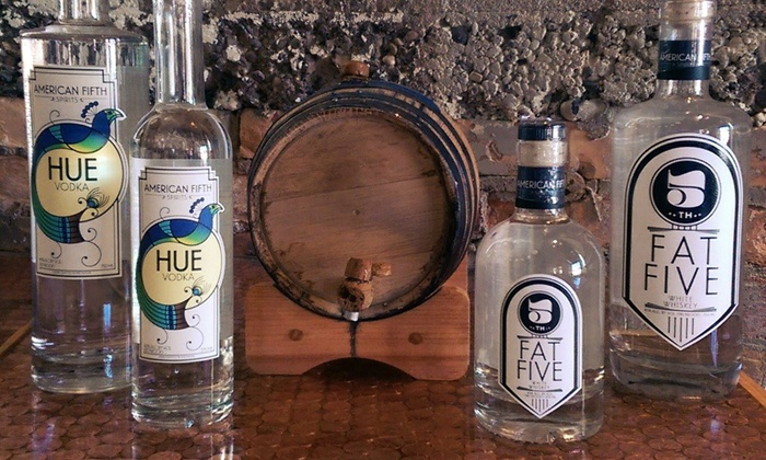 American Fifth Spirits - Eastside: Distillery Tour, Tasting, and Branded Glassware for Two or Four at American Fifth Spirits (Up to 43% Off)