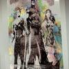 Superhero Framed Canvas Print