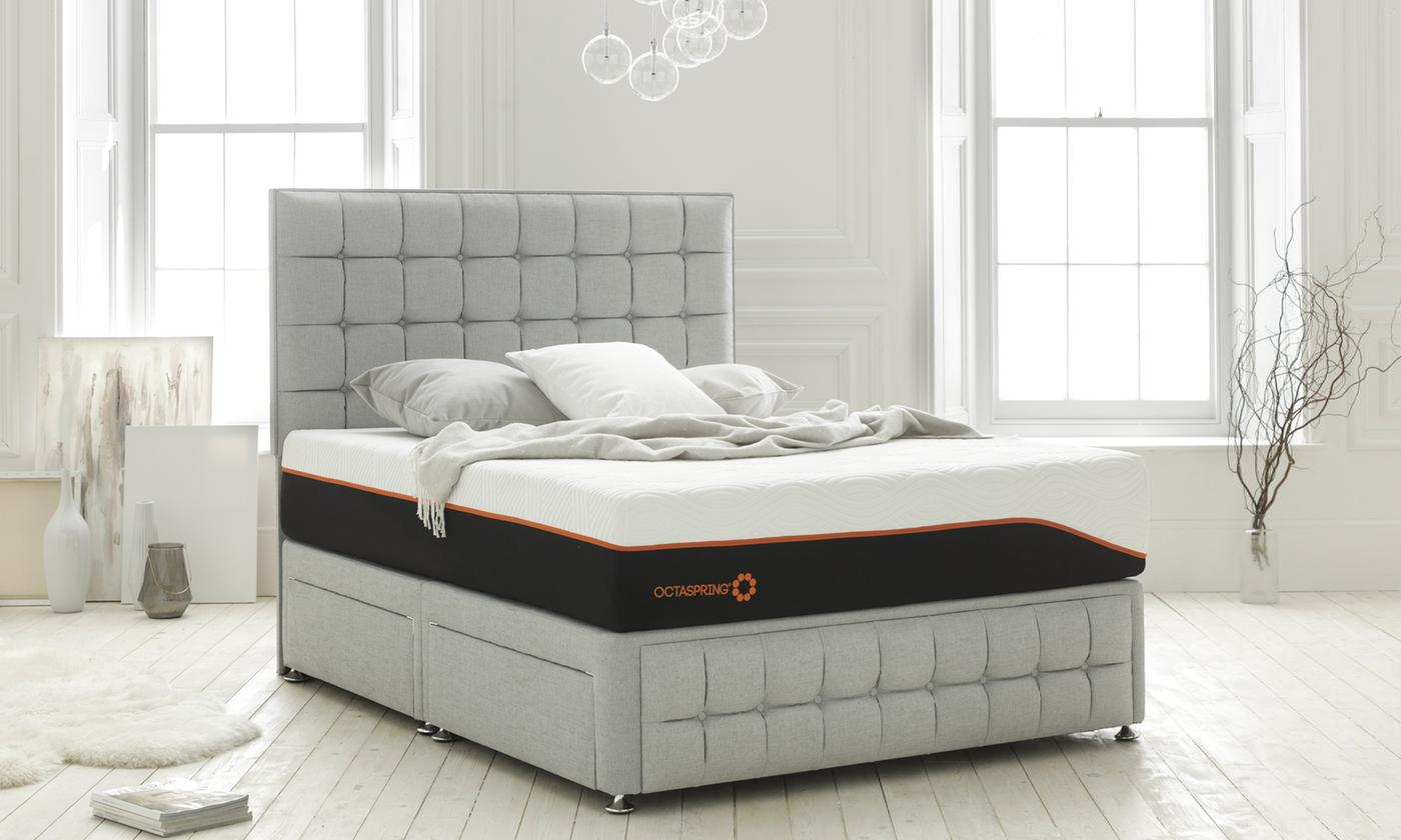 Dormeo Octaspring 7500 Latex Memory Foam Mattress in Choice of Size from £499 (61% OFF)