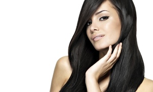 Bellatair Salon: Haircut, Wash, Deep Conditioning, and Blowout with Optional Highlights at Bellatair Salon (Up to 65% Off)