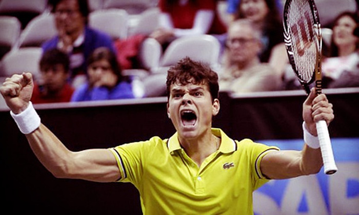 SAP Open Tennis - Central San Jose: SAP Open Pro First-Round Tennis Matches at HP Pavilion at San Jose on February 11 at 7 p.m. (Up to 80% Off)