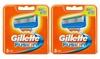 10 Gillette FusionErsatzklingen
