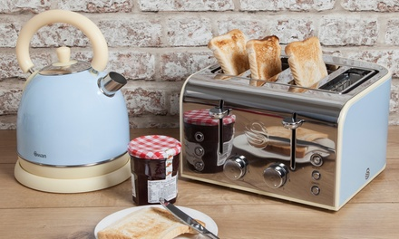 Swan Retro Kettle And Toaster Groupon Goods