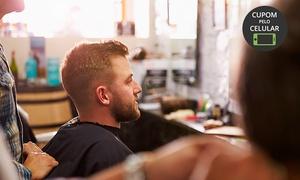 Essenza Salão e Estética: Essenza Salão e Estética – Juvevê:corte masculino (opção com barba)