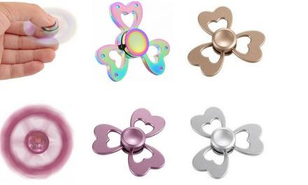1, 2 ou 4 Hand Spinners en forme de Cœur