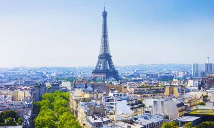 Paris: Double Room for Two with Breakfast and Option for Parking at Best Western Rives de Paris