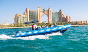 Xclusive Yachts: 90-minute Jumeirah Palm Island Yacht Tour for One Child or Up to Four Adults (Up to 47% Off)