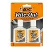 Bic Wite-Out Quick Dry Correction Fluid (6- or 48-Pack)