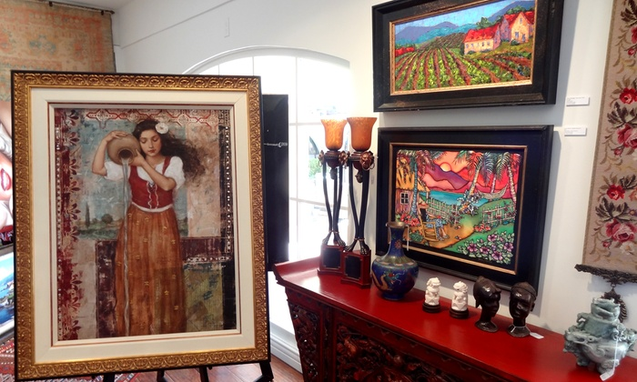 Westlake Village Gallery , LLC - Westlake Village: Fine Art and Limited-Edition Prints at Westlake Village Gallery, LLC (Up to 65% Off). Three Options Available.