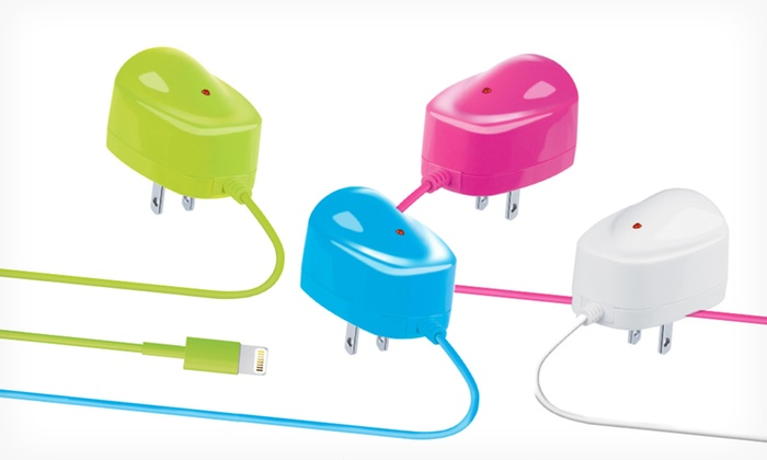Apple-Certified Merkury Lightning 2.1-Amp Wall Charger : Apple-Certified Merkury Lightning 2.1-Amp Wall Charger. Multiple Colors Available. Free Shipping and Returns.