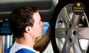 JPS Centro Automotivo: Alinhamento, balanceamento, cambagem, rodízio e revisão (com opção de óleo e A/C) no JPS Centro Automotivo – Irajá
