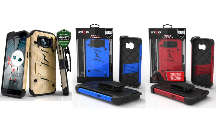 low priced 71ac2 65a8b Zizo Bolt Smartphone Case | Groupon Goods