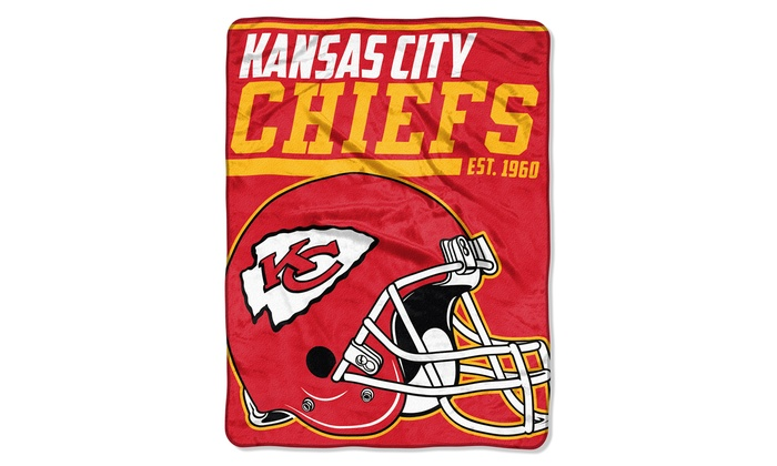 NFL 46″x60″ Micro Raschel Throw Blanket