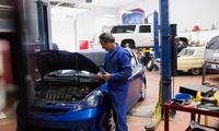 54-Point Car Service with Oil Change and Optional Engine Diagnostic Test at Piston&Rotor The Garage (Up to 51% Off)