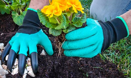 Paire de gants de jardinage groupon for Gardening 4 less groupon