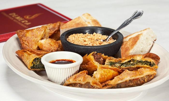 Demera Ethiopian Restaurant - Uptown: Ethiopian Dinner for Two or Four at Demera Ethiopian Restaurant (Up to 34% Off)