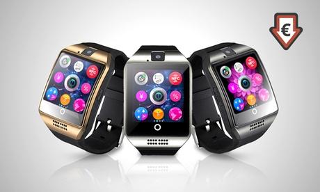 Smartwatch BAS-Tek Q18 con bluetooth y pantalla HD