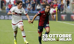 Genoa CFC: Genoa CFC vs AC Milan: Business Seat e cena pre-partita. Vivi le emozioni della Serie A e un'esperienza VIP allo stadio!