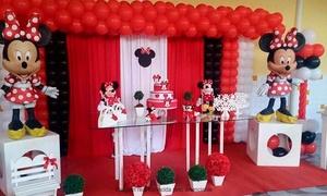 Buffet Infantil Planeta Festa: Buffet Infantil Planeta Festa – Caiçaras: buffet infantil completo para 80 ou 100 pessoas