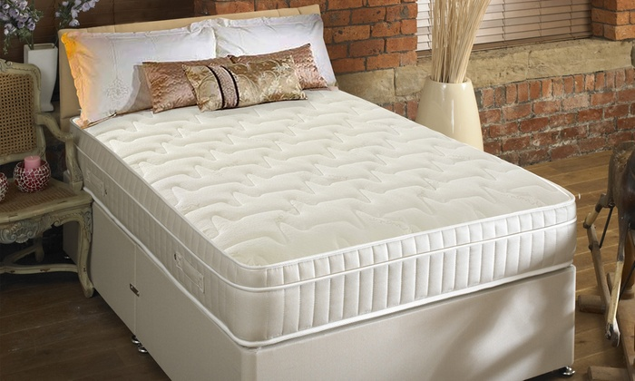 Quilted Pillow Top Mattress from £150 With Free Delivery
