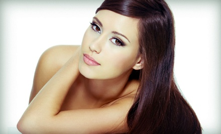 Keratherapy Hair-Smoothing Treatment with Optional Haircut at L Mondo Hair Moda (Up to 60% Off)
