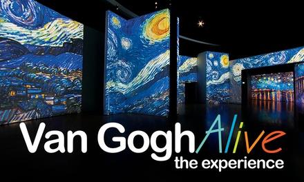 """Entrada a la exposición multisensorial """"Van Gogh Alive The Experience"""" en Sevilla por 10,50 €"""