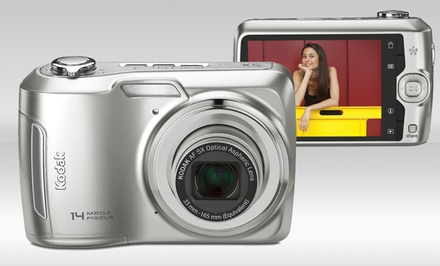 Kodak EasyShare C195 14-Megapixel Digital Camera with 5x Optical Zoom. Free Returns.