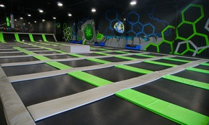 Up to 51% Off Jump Passes or a Party at Sector6 at Sector6 Extreme Air Sports, plus 6.0% Cash Back from Ebates.